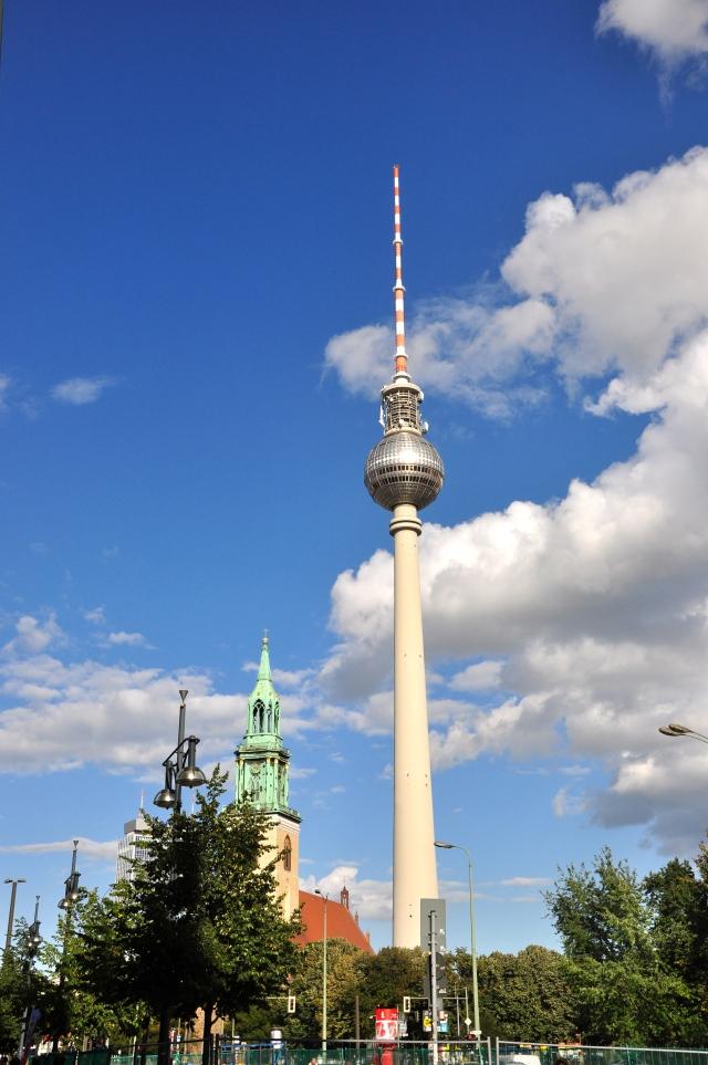 A Torre de TV de Berlim