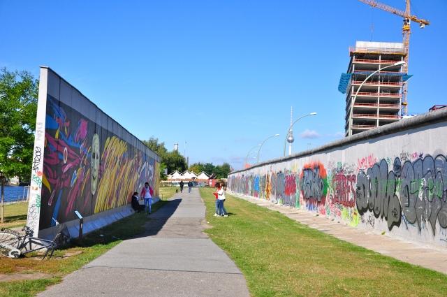 Pedaços do Muro de Berlim