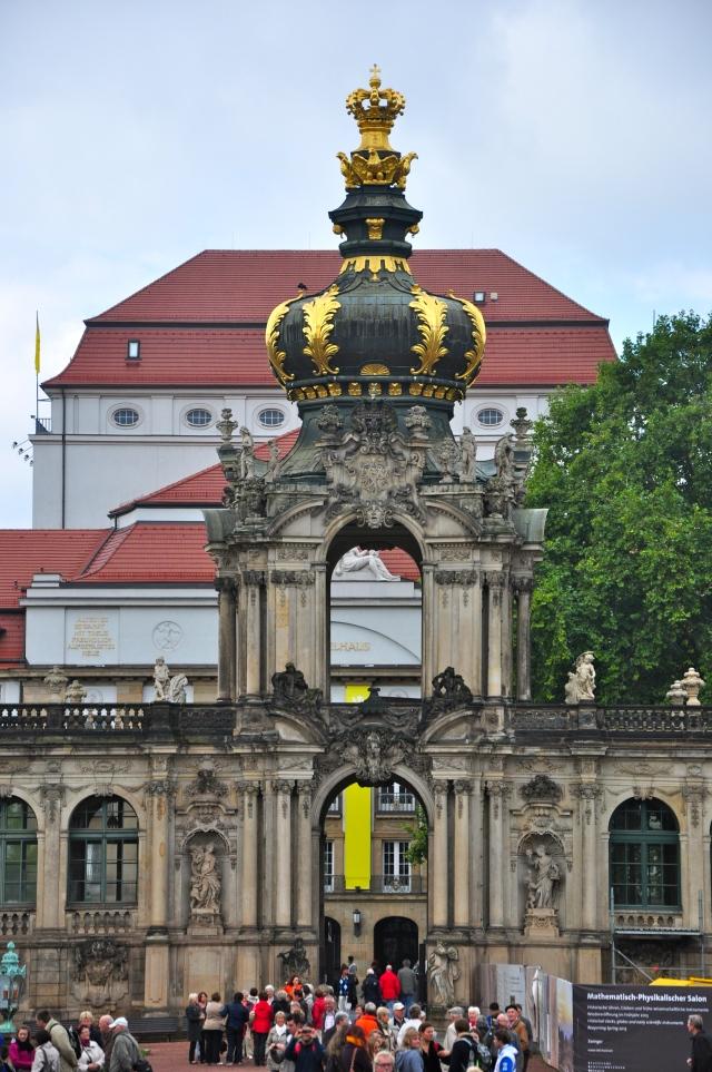 O Portão da Coroa, a entrada do Zwinger
