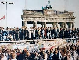 A Queda do Muro de Berlim em 1989