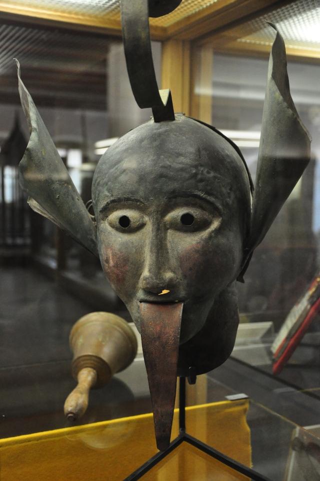Máscara de tortura.