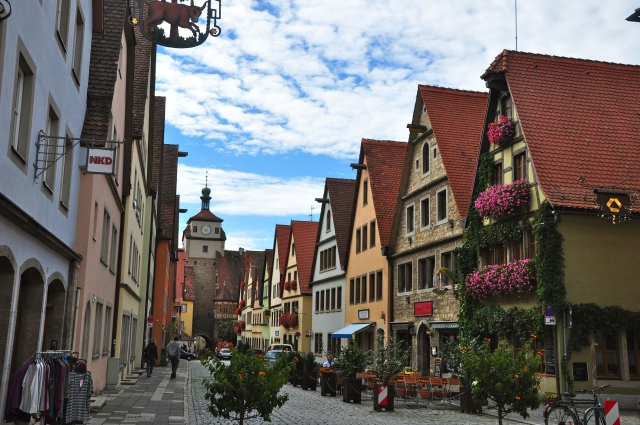 Rotemburgo encanta desde a entrada.