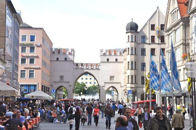 Munique, uma das cidades mais animadas da Alemanha.