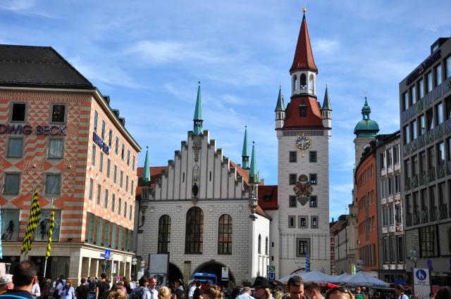 O prédio da Altes Rathaus