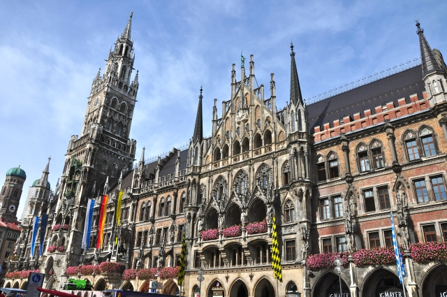 O Neues Rathaus de Munique