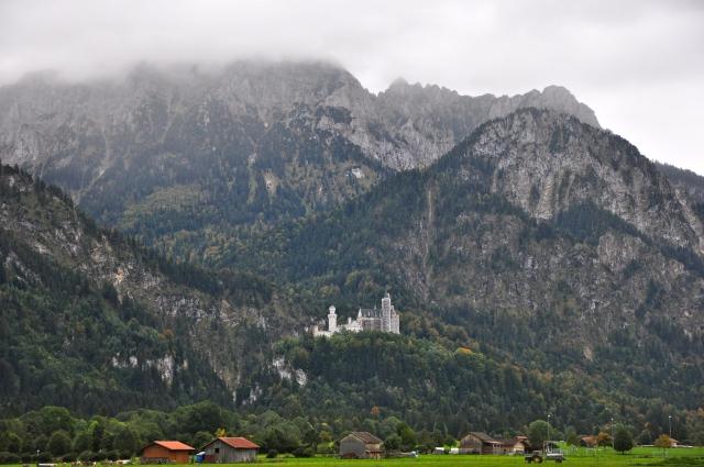 A localização privilegiada do Castelo de Neuschwastein