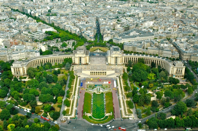 Paris - uma cidade planejada.