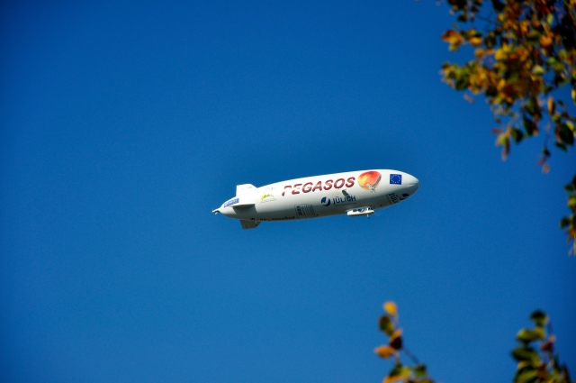 Um Zeppelin no céu de Constança