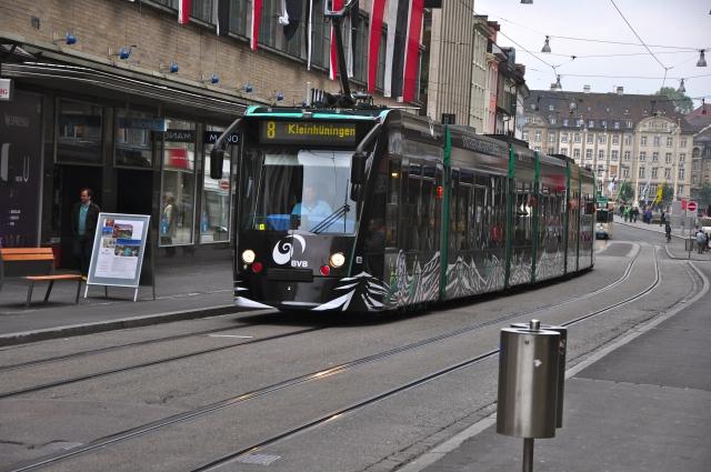 Transporte público em Basel