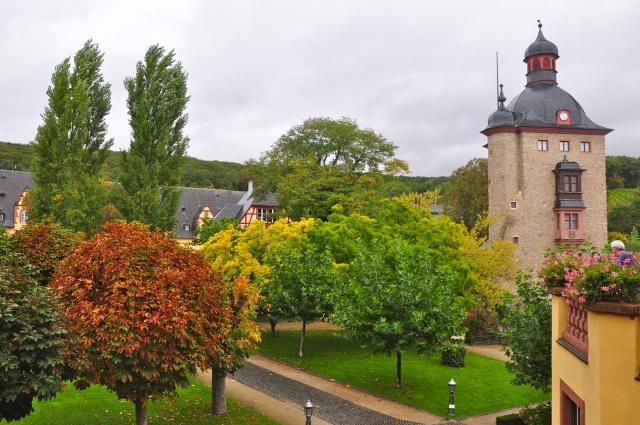 O jardim do Castelo Vollrads