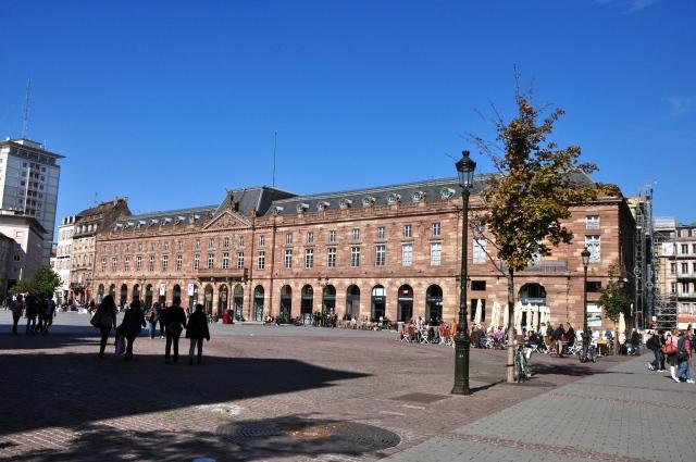Um tarde ensolarada em Estrasburgo