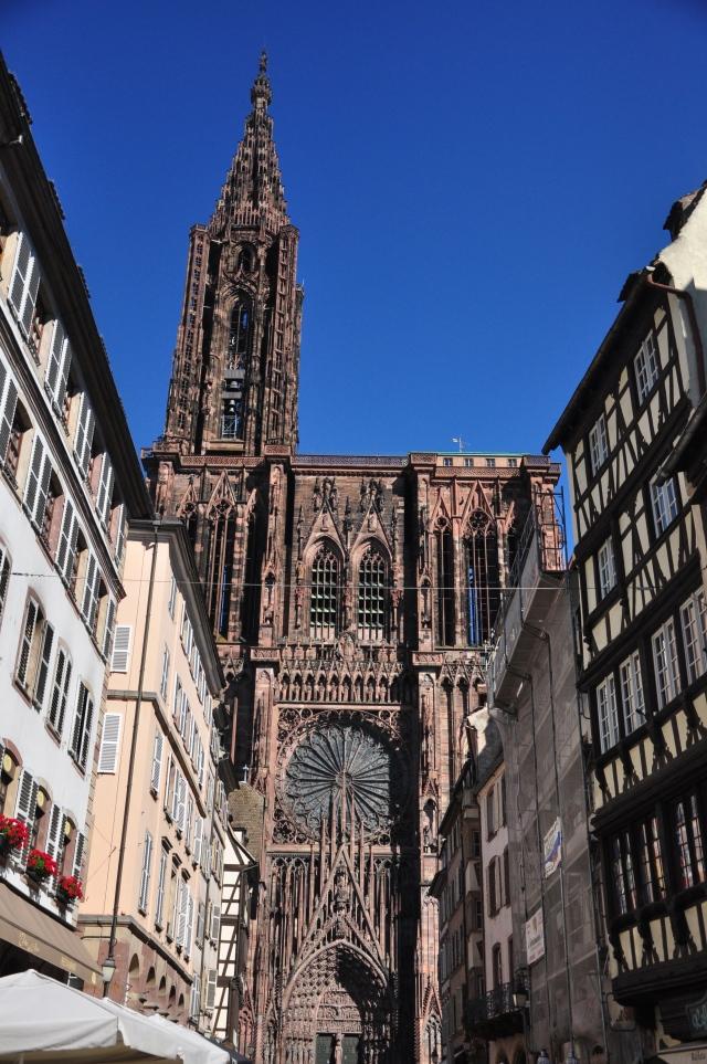 A Catedral de Notre Dame de Estrasburgo
