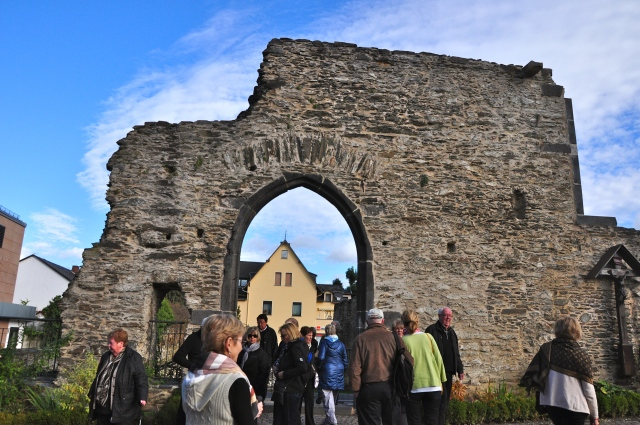 As ruinas romanas de Boppard