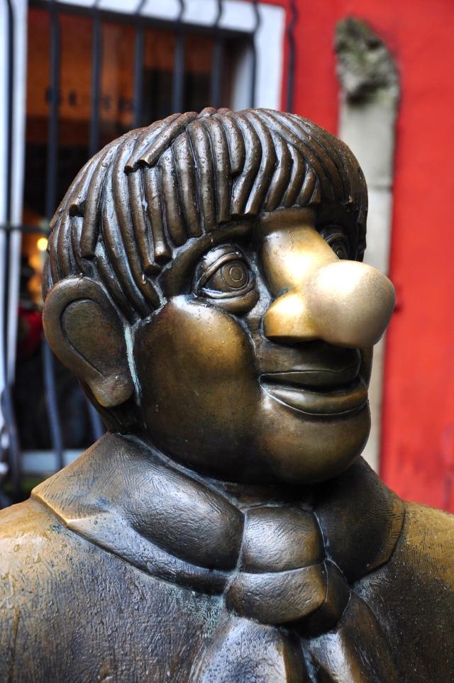 Escultura na rua de Colônia