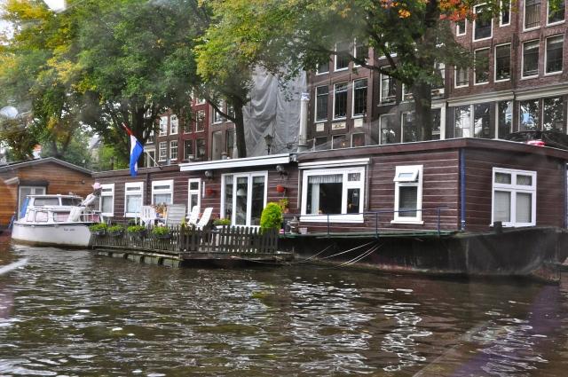 Casa Flutuante em Amsterdam