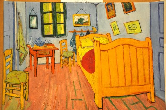 O Quarto de Van Gogh e, Arles - 1889