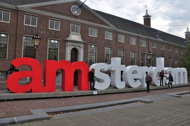 A fachada do Hermitage Amsterdam