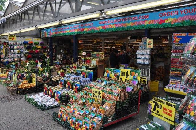 O Mercado de Flores de Amsterdam.