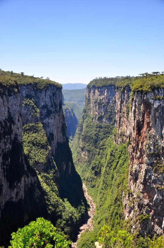 A trilha do Rio do Boi