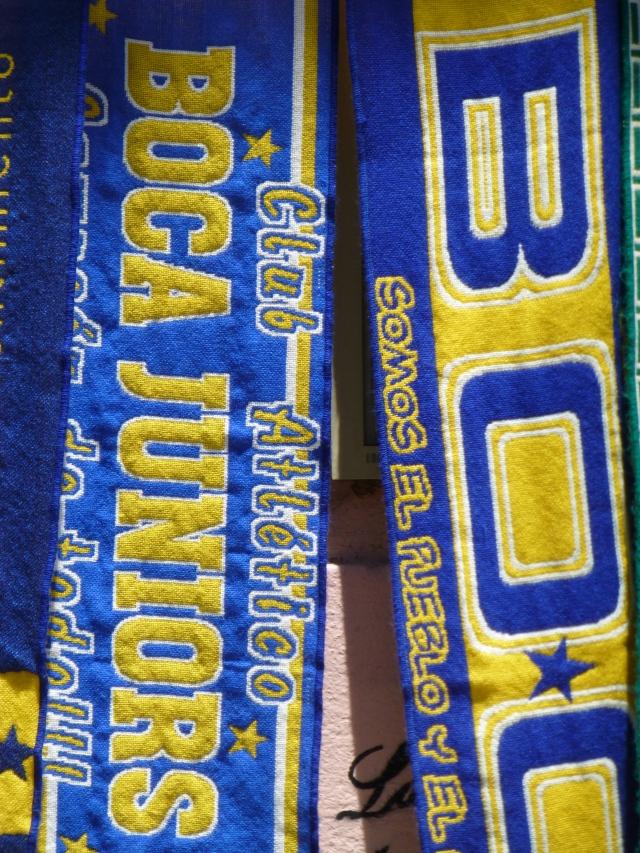 A paixão pelo Boca.