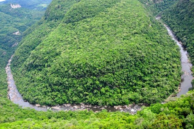 "A ""ferradura"" do Rio Caí."