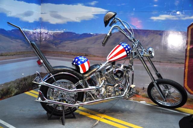A réplica da Panhead Easy Rider