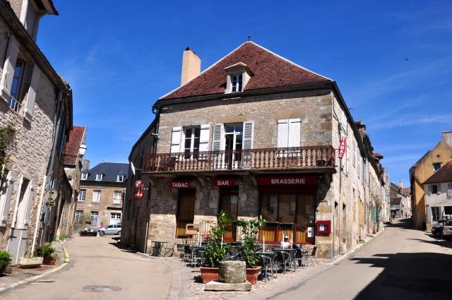 A cidadezinha de Vézelay