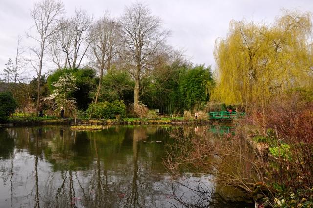 Os jardins da Fundação Claude Monet.