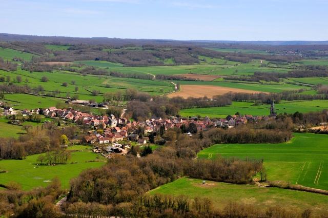 Os campos da Borgonha
