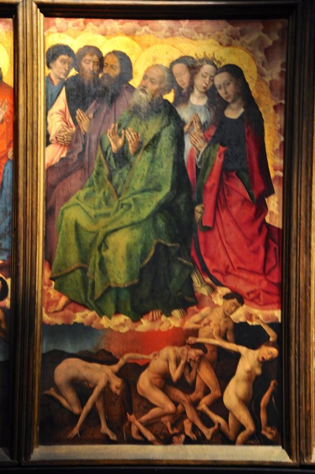 Detalhe de O Juizo Final de Rogier Van Der Weyden