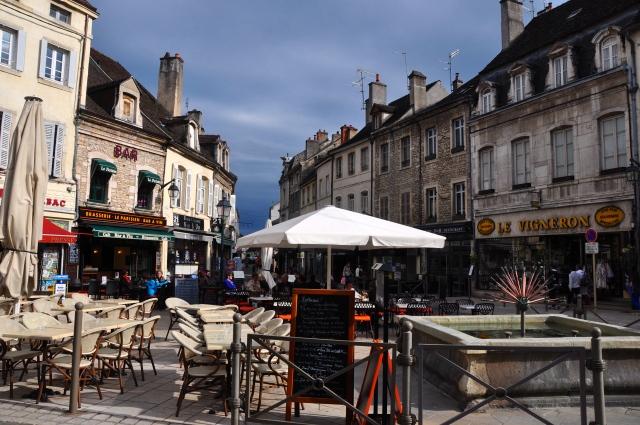 As ruas charmosas de Beaune