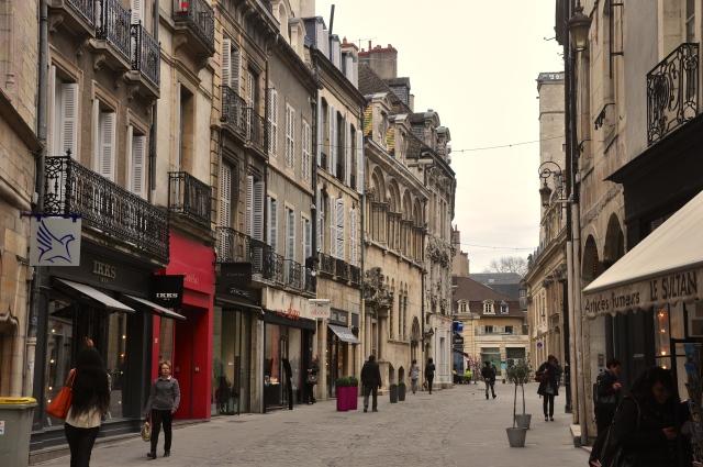 Centro histórico de Dijon.