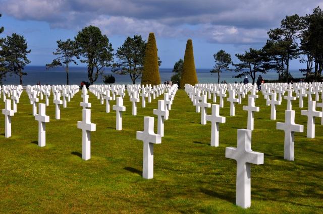 O Cemitério de Omaha.