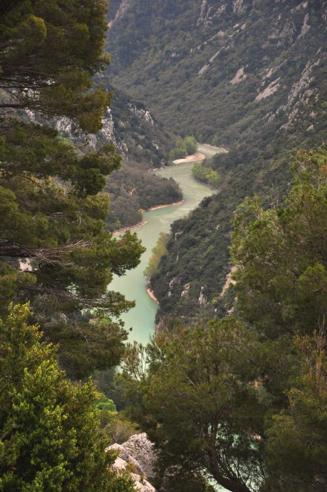 A Garganta do Verdum na Provença