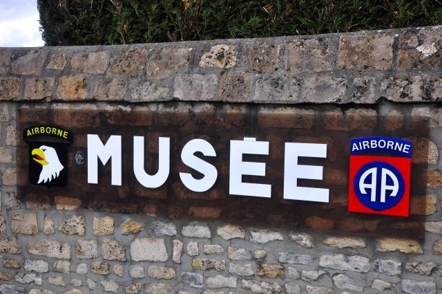 O Museu dos Airbornes.