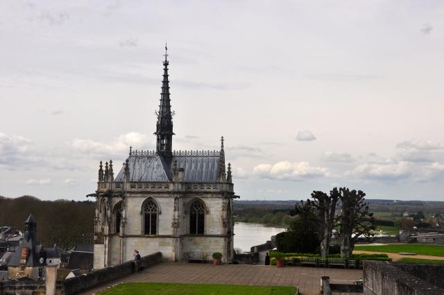 A charmosa capela de Saint Hubert