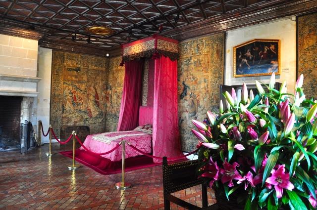 Quarto de Rainha do Palácio Chenonceau
