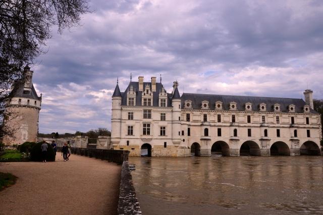 O Castelo Chenonceau.
