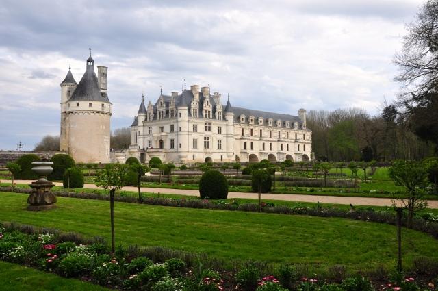 Os jardins de Chenonceau