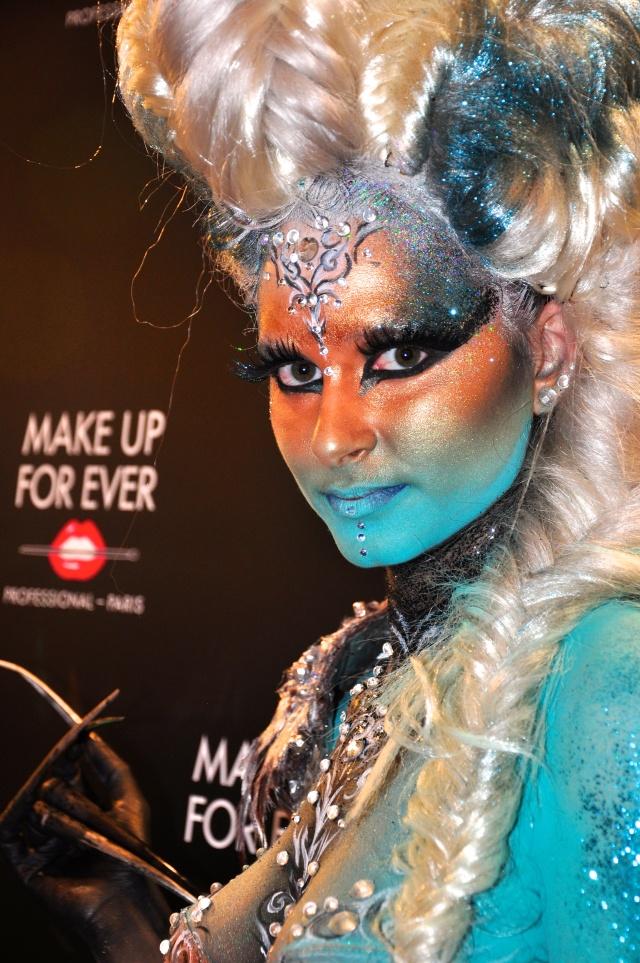 Make up de maquiagem na Sephora