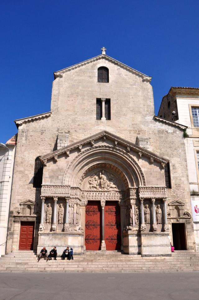 A Igreja de Saint Trophine