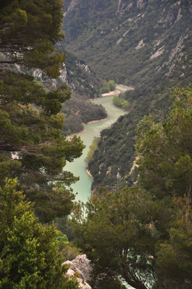 A garganta do Verdon