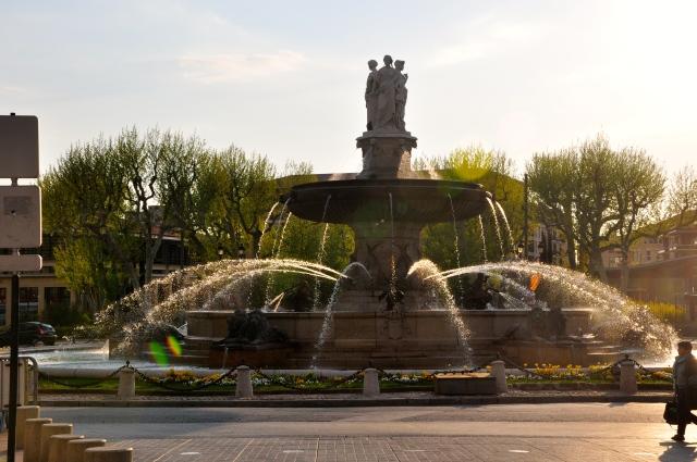 Aix, a cidade das mil fontes
