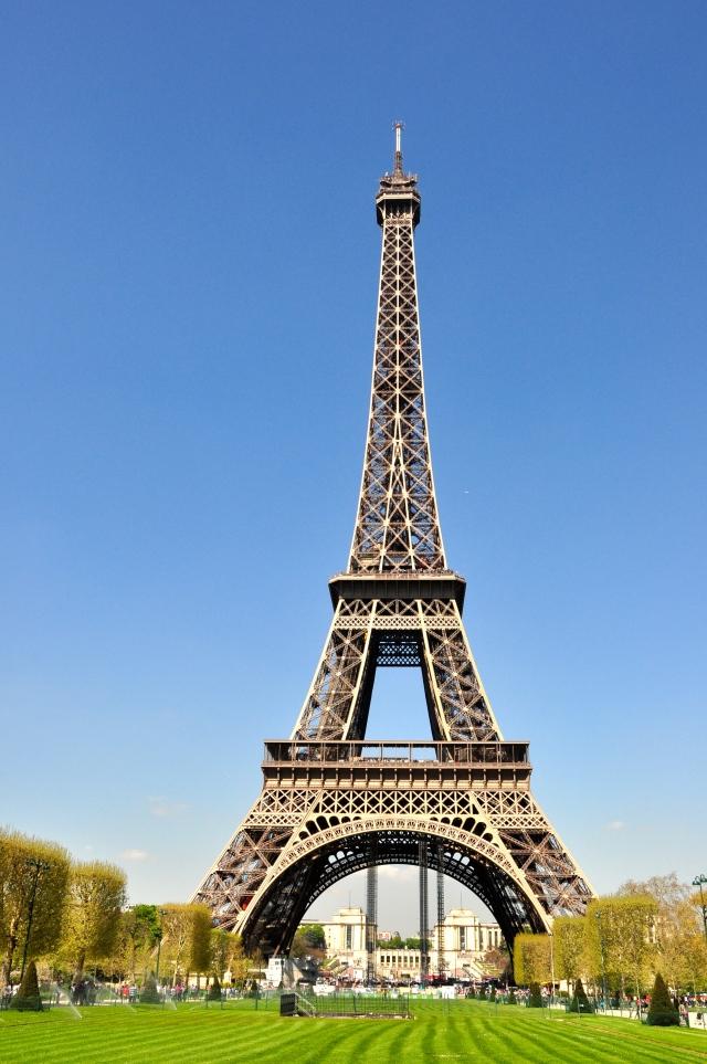 Os três níveis da Torre Eiffel