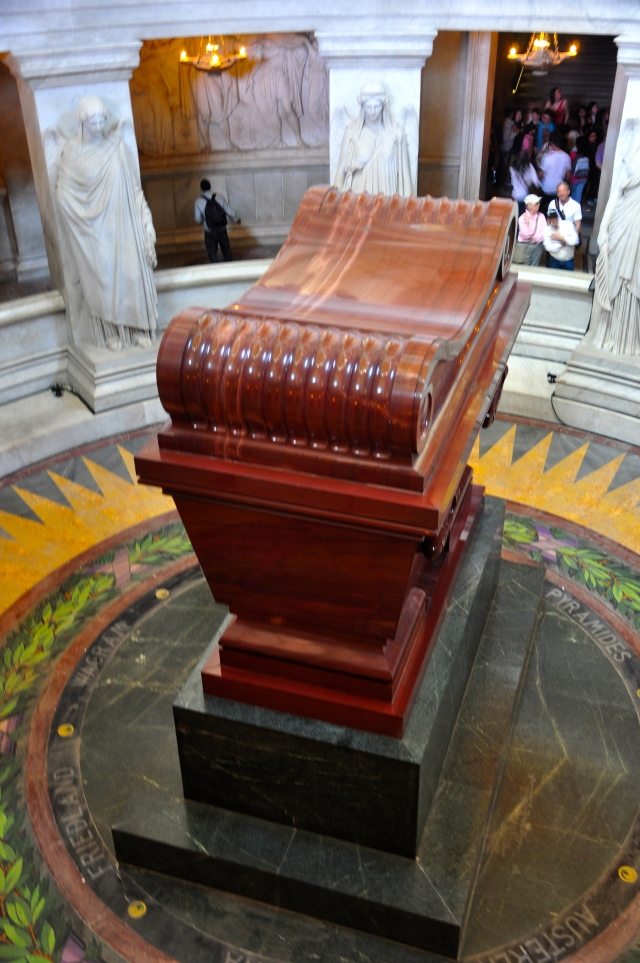 A tumba de Napoleão Bonaparte