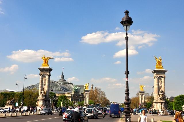 A espetacular Ponte Alexandre III