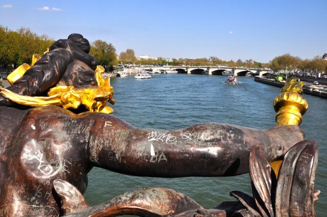 Detalhe da Ponte Alexandre III