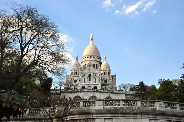 A colina de Montmartre.