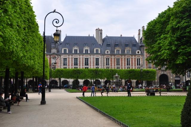 Detalhes da Place des Voges