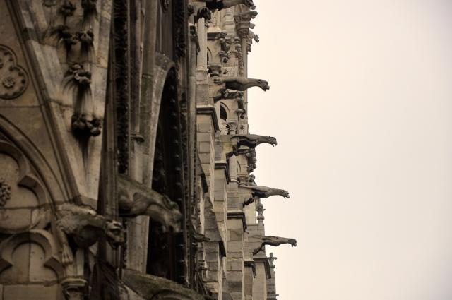 As gárgulas e quimeras da Catedral de Notre Dame